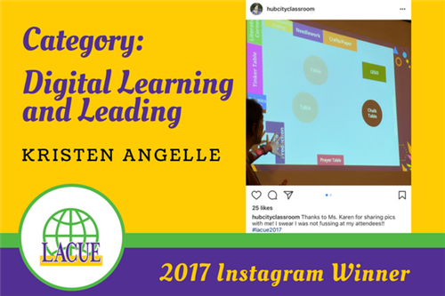 2017 Instagram Digital Learning and Leading