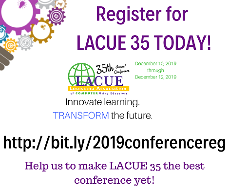 Registration  for the 2019 LACUE Conference