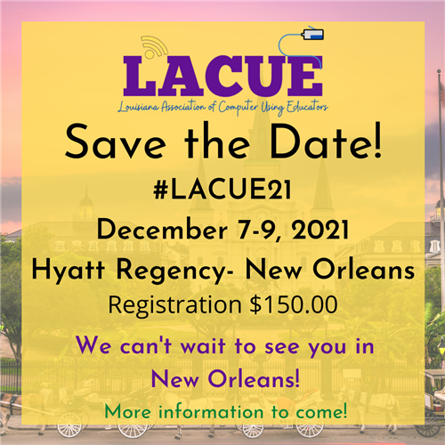 LACUE Save the Date