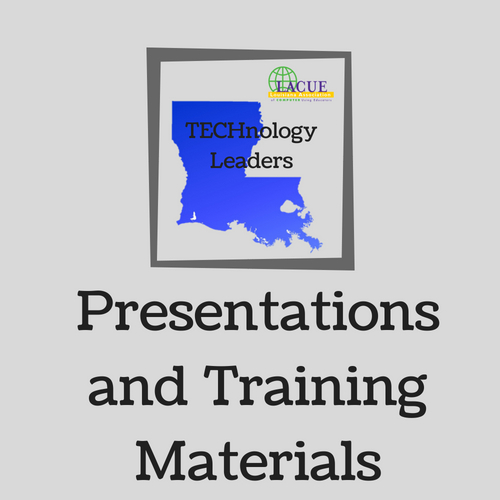 Presentations and Training Materials