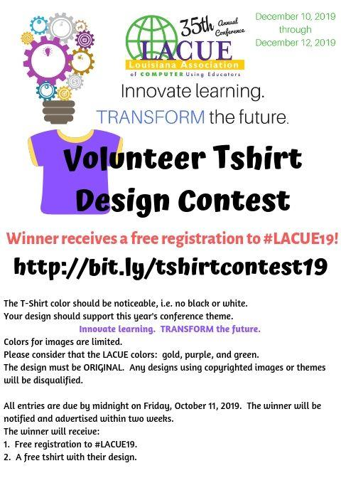 TShirt Contest Flyer